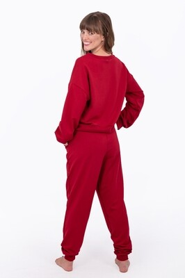 Tracksuit Top (Burnt Red)