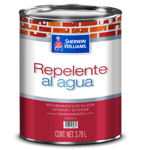 SELLADOR TRANSPARENTE REPELENTE AL AGUA DE SILOXANO GALON