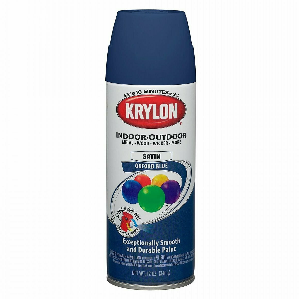 AEROSOL KRYLON SATIN OXFORD BLUE