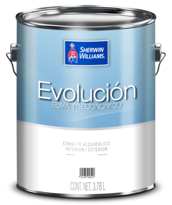 ESMALTE EVOLUCIÓN BLANCO CUBETA