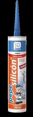 SILICON 100% PROF TRANSP 280 ML