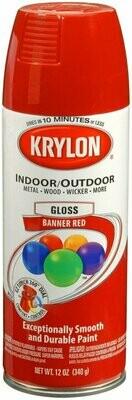 AEROSOL KRYLON BANNER RED