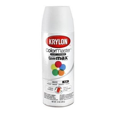 AEROSOL KRYLON FLAT WHITE