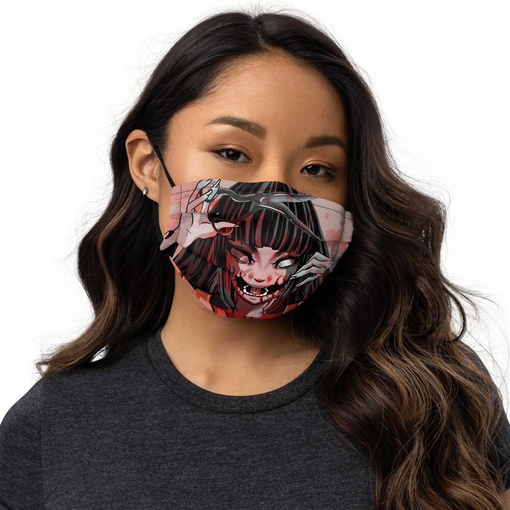 Kuchisake-Onna face mask