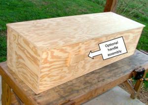 DIY Plywood Coffin Plans