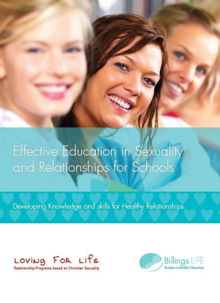PDF eBook Effective Education in Sexuality and Relationships for Schools (For Parents and Teachers)