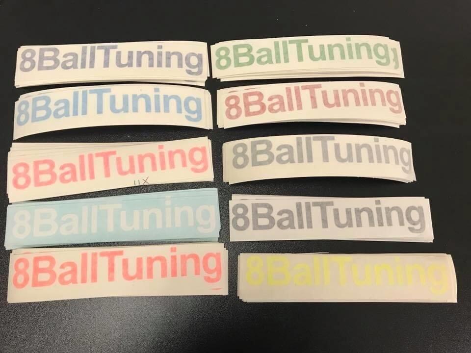 8BallTuning Sticker