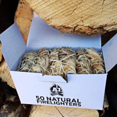 AJ's Natural Firelighters - Box of 50