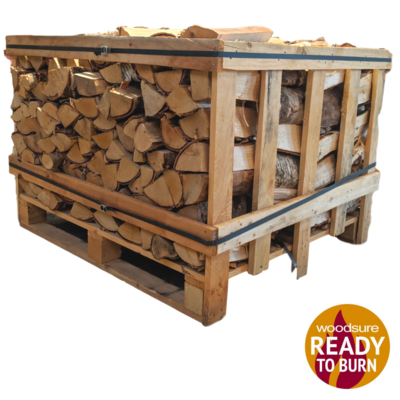 1.25 Kiln Dried Birch Hardwood Crate