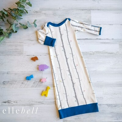 Organic Cotton Infant Gown
