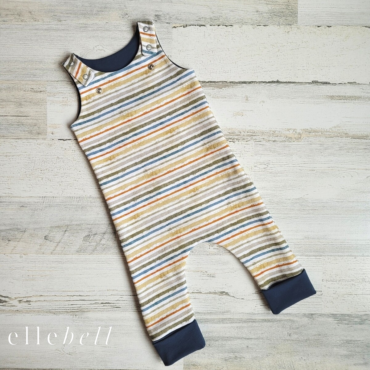 Grow With Me Romper - Stripes
