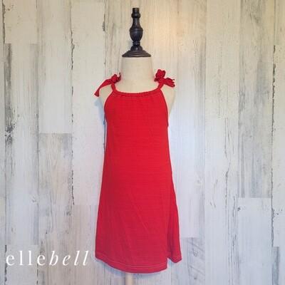 Tie-Strap Swim Cover Up & Dress