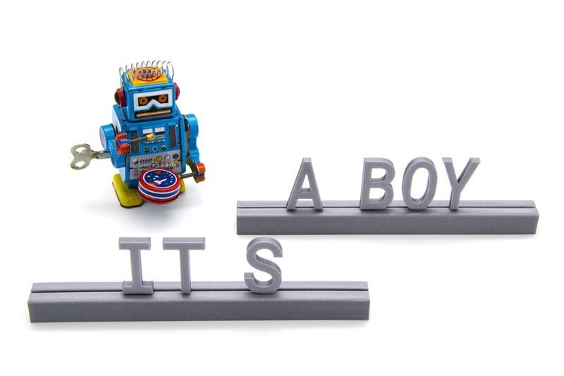 """""""It's a boy"""""""