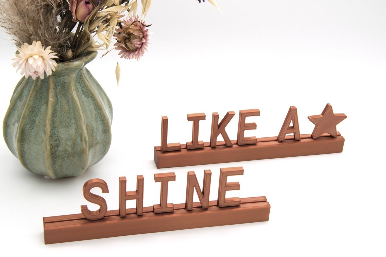 """""""Shine like a star"""""""