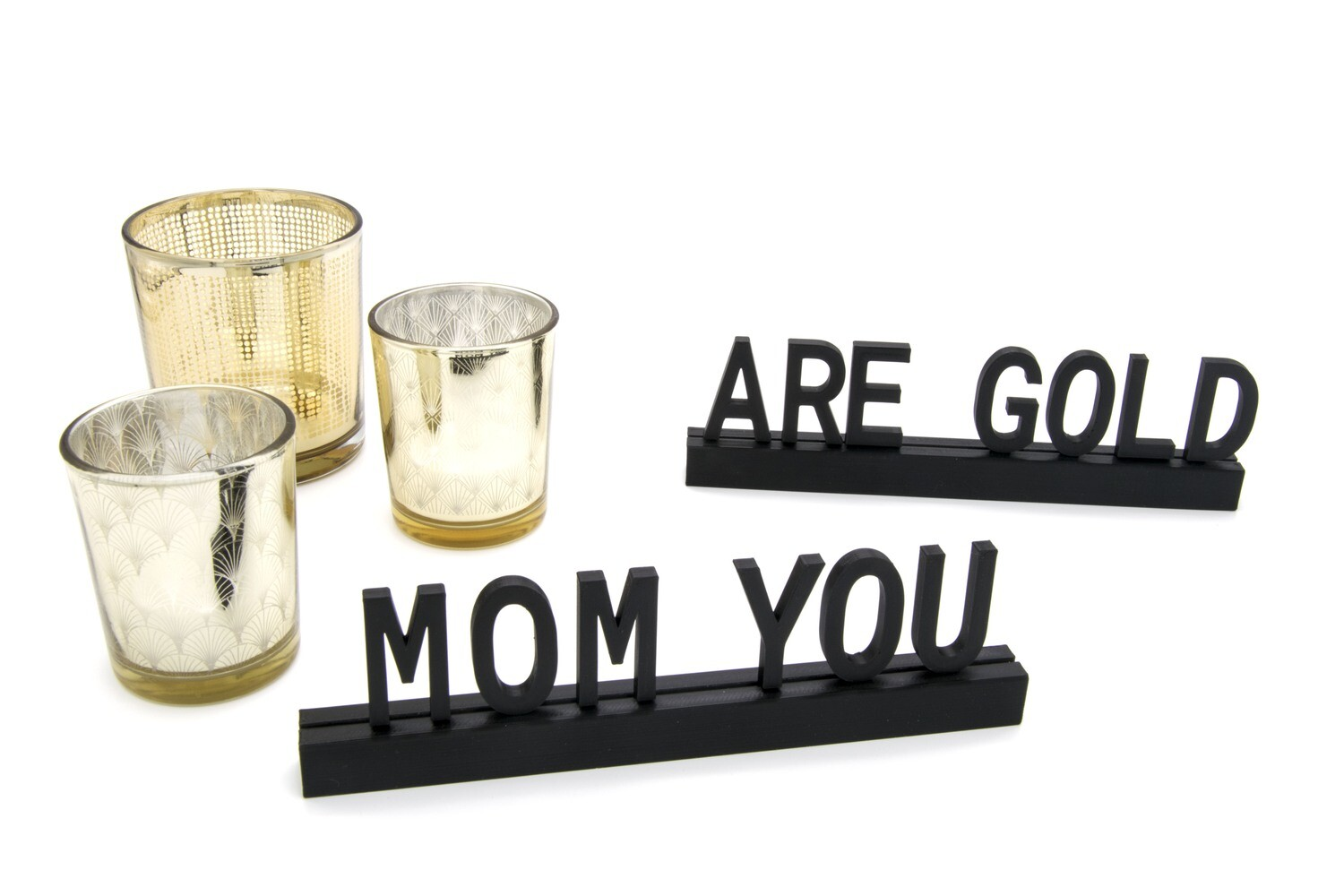 """""""Mom you are gold"""""""