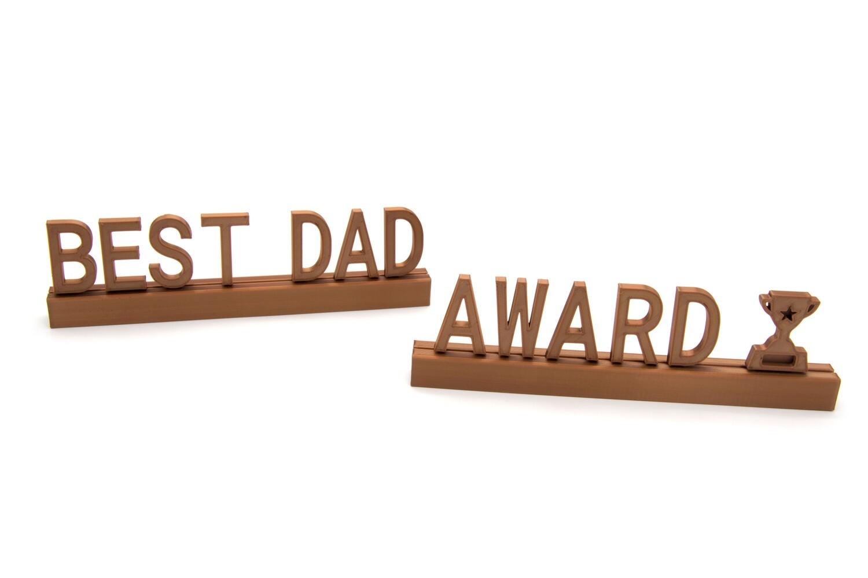 """""""Best dad award"""""""