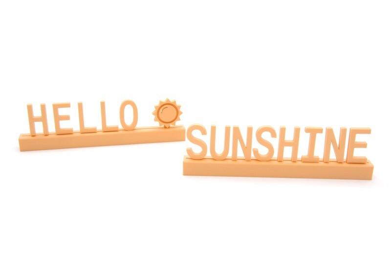 """Hello sunshine"""