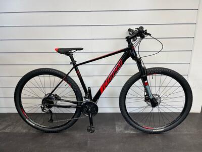 Conway MS 529 mountainbike Zwart Rood