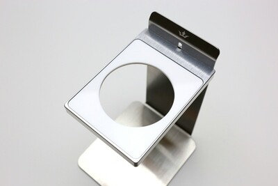 Acrylic Dripper Plate, 64mm (White) for MaikoDrip Coffee Stand