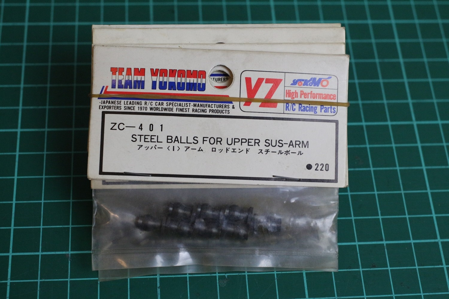 ZC401 YOKOMO STEEL BALLS FOR UPPER SUS-ARM
