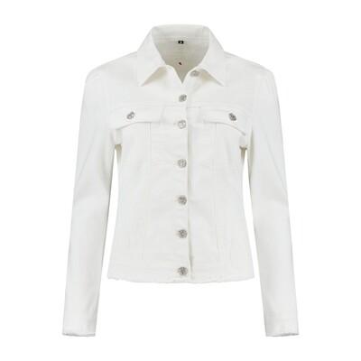 Florez-jecket wit
