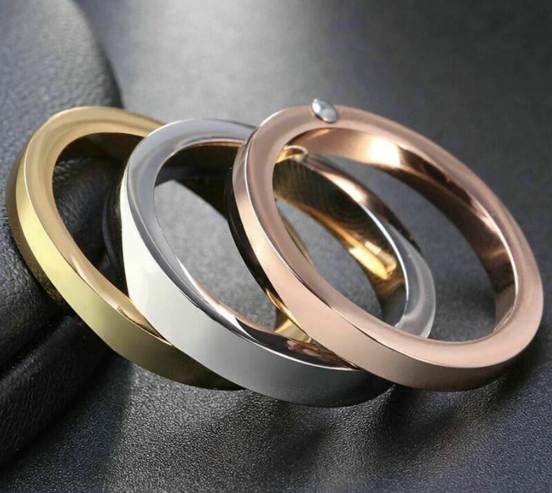 Beautiful articulated ring in three colours