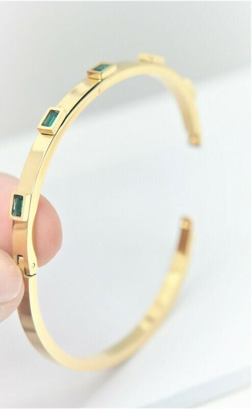 Designer personalized trendy bracelet with stones