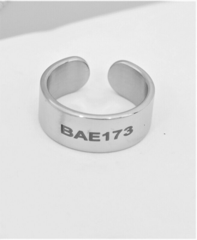 Personalized stainless steel adjustable 8mm band
