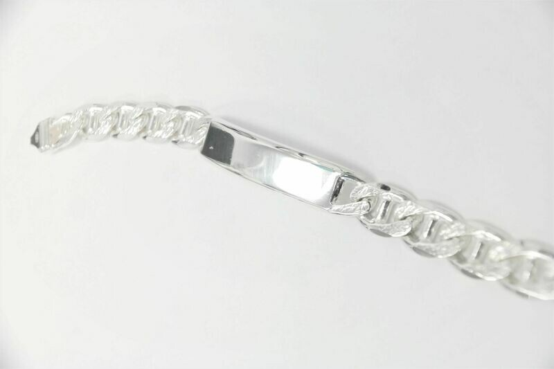 Personalized high-quality 925 sterling silver bracelet made in Italy