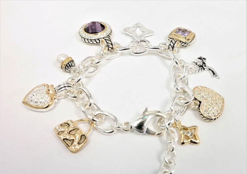 Spectacular designer quality bracelet.