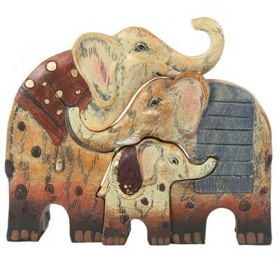 Elephant Family of 3
