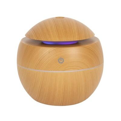 Small Round Wood Grain Aroma Diffuser