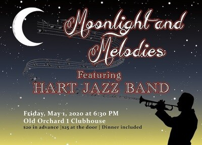 Moonlight and Melodies Ticket Featuring The Hart Jazz Band