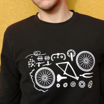 Bike parts T-shirt