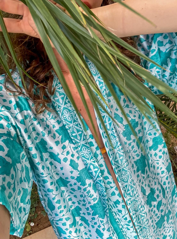 Jungle Green kimono