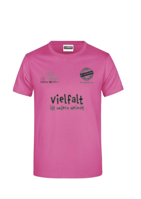 T-Shirt zur Aktion #PinkGegenRassismus