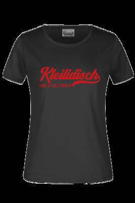 "T-Shirt ""Kleilidisch stolz"""