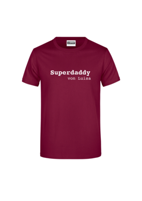 "T-Shirt ""Superdaddy"""