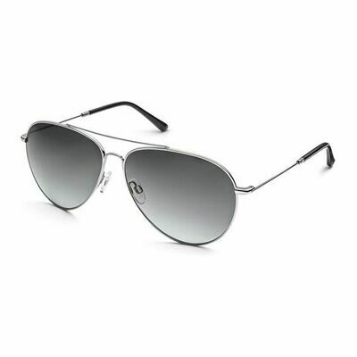 Солнцезащитные очки унисекс Audi Aviator Sunglasses, Gun Metal