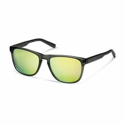 Солнцезащитные очки унисекс Audi quattro Sunglasses Mirror Lens, anthracite/yellow