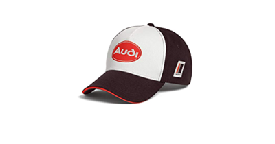 Бейсболка Audi heritage Cap, brown/white