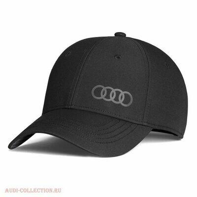 Бейсболка унисекс Audi Cap Premium 'Frequenz', black