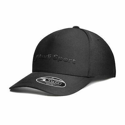 Премиальная бейсболка Audi Sport Flexfit Cap, black