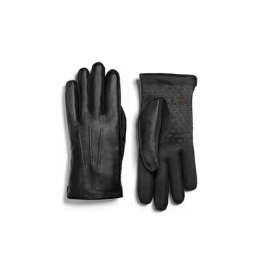 Мужские кожаные перчатки Audi Sport Mens Leather Gloves, Black