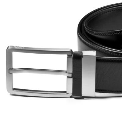 Кожаный ремень Audi Leather Belt, Black