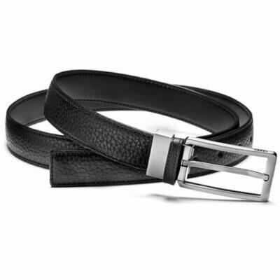 Узкий кожаный ремень Audi Leather Belt Narrow