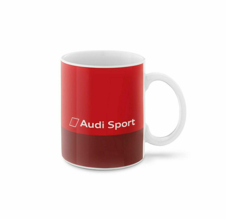 Фарфоровая кружка Audi Sport Mug, Red
