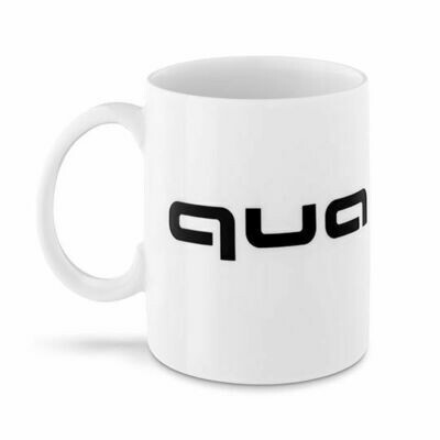 Фарфоровая кружка Audi quattro Mug, White