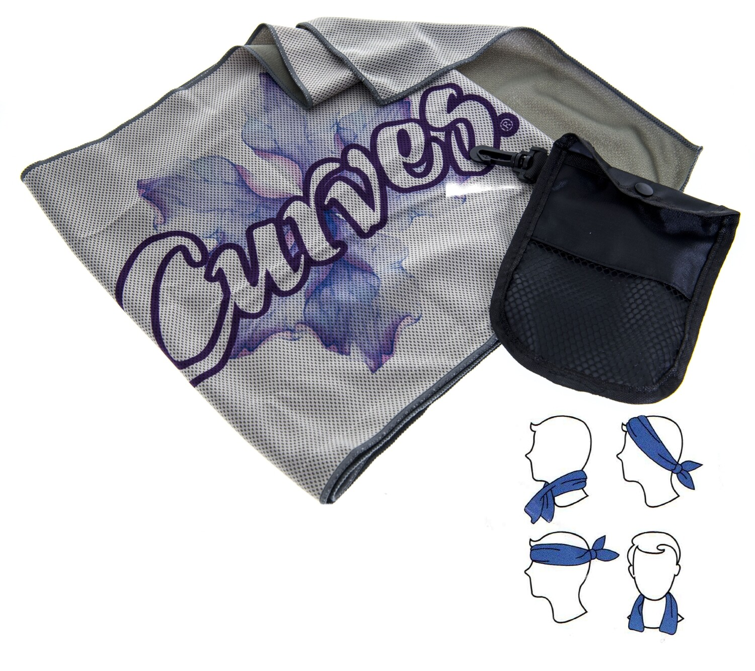 Curves Cooling Towel