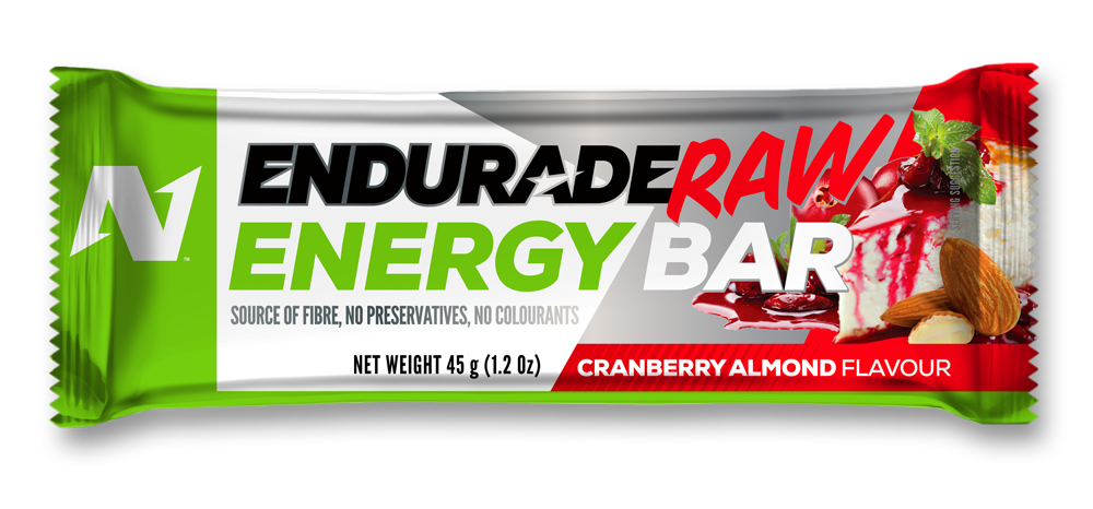 Endurade Raw Bar  Cranberry Almond